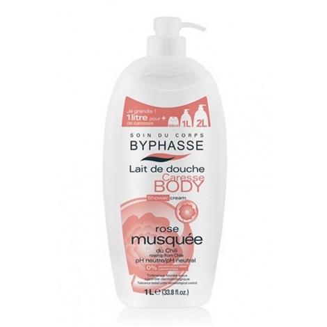 Byphasse - Crema de Ducha Rosa Mosqueta 1Lt