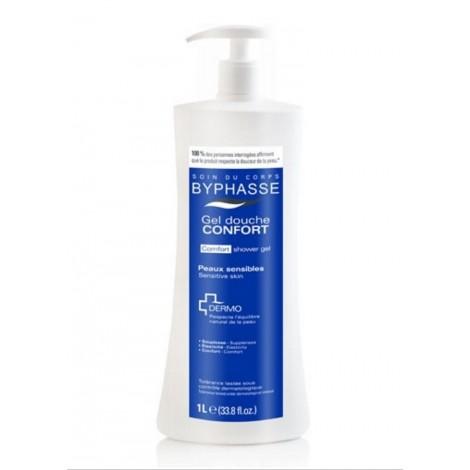 Byphasse - Gel de Ducha Dermo Confort piel sensible 1Lt