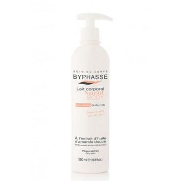 Byphasse - Crema Nutritiva Aceite de Almendra piel seca 500ml c/dosificador