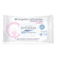 Byphasse - Toallitas limpiadoras x 24