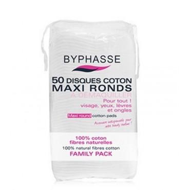 Byphasse - Disco de algodón redondo Maxi x 50