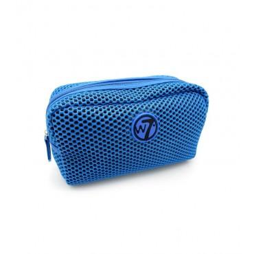 W7 - Neceser Mesh Pequeño - Azul