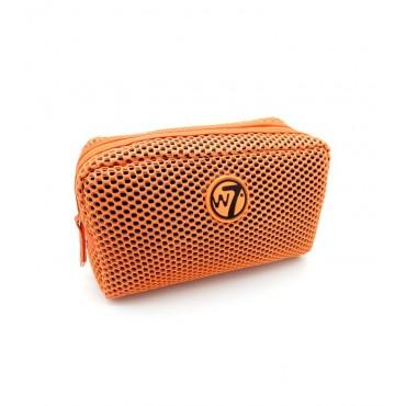 W7 - Neceser Mesh Pequeño - Naranja