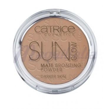Catrice - Polvos bronceadores Mate Sun Glow 020 Deep Bronze