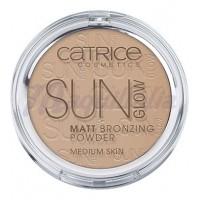 Catrice - Polvos bronceadores Mate Sun Glow - 030: Medium Bronze