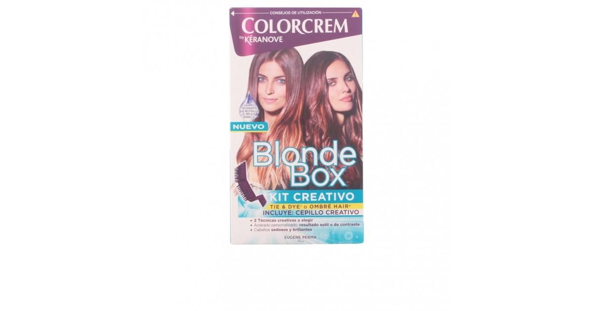 blonde box kit creativo con pincel creativo