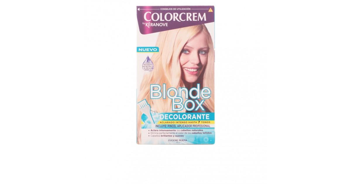 blonde box decolorante intenso con pincel profesional