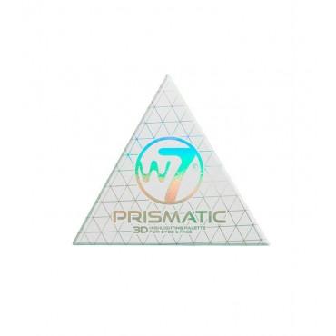 W7 - Paleta de iluminadores para ojos y rostro Prismatic 3D