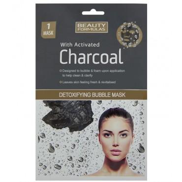 Beauty Formulas - Mascarilla de burbujas detox con carbón activado