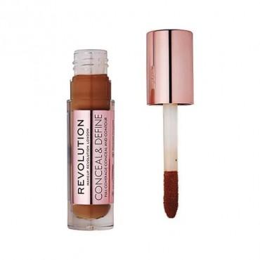 Makeup Revolution - Corrector líquido Conceal & Define - C15