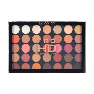 Makeup Revolution - Paleta de sombras de ojos Pro HD Amplified 35 - Innovation