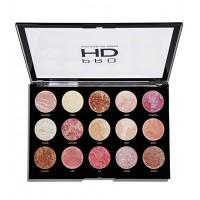 Makeup Revolution - Paleta de iluminadores Pro HD Amplified - Get Baked