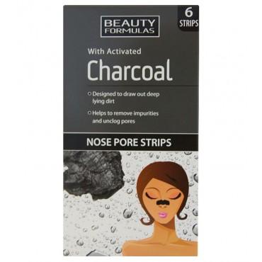 Beauty Formulas - Tiras Limpiadoras de Poros - Carbón