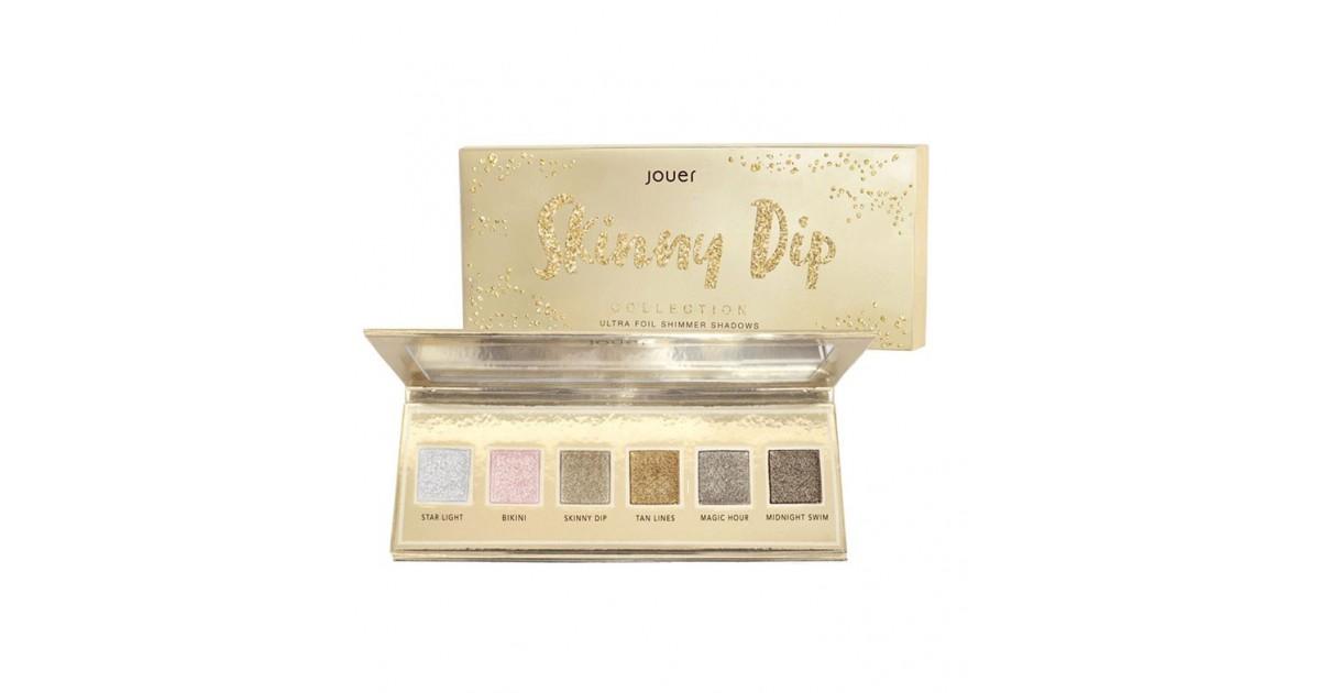 Jouer - *Skinny Dip Collection* - Paleta de Sombras Ultra Foil Shimmer