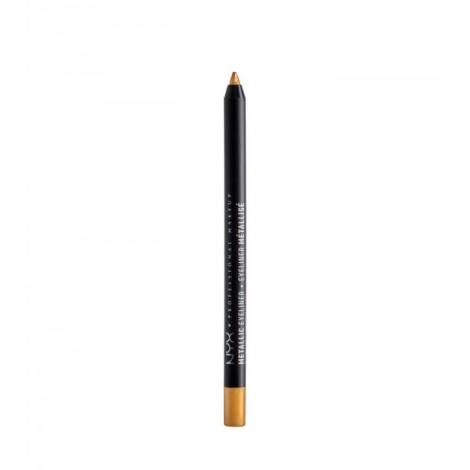 Nyx Professional Makeup - Delineador de ojos Metalizado - MEL04: Gold