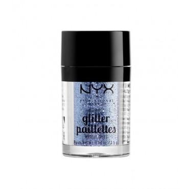 NYX Professional Makeup - Metallic Glitter Pailettes - MGLI02: Darkside