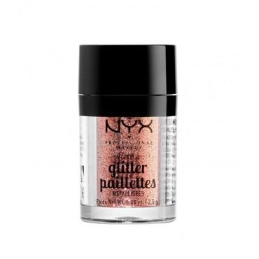 NYX Professional Makeup - Metallic Glitter Pailettes - MGLI01: Dubai Bronze