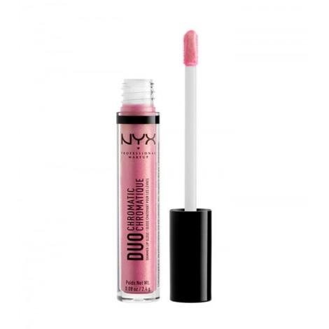 Nyx Professional Makeup - Brillo de labios Duo Chromatic - DCLG01: Booming
