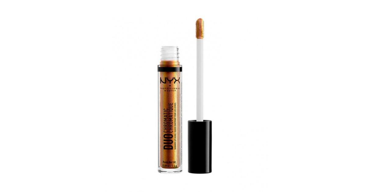 Nyx Professional Makeup - Brillo de labios Duo Chromatic - DCLG02 Crushing It