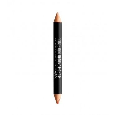 Nyx Professional Makeup - Lápiz dúo micro contour - MCDP01: Light / Clair