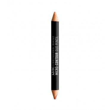 Nyx Professional Makeup - Lápiz dúo micro contour - MCDP02: Medium / Moyen