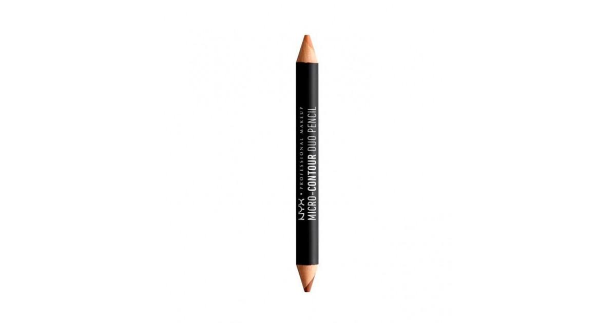 Nyx Professional Makeup - Lápiz dúo micro contour - MCDP04: Deep / Profond