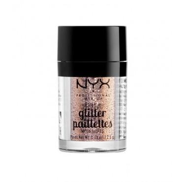 NYX Professional Makeup - Metallic Glitter Pailettes - MGLI04: Goldstone