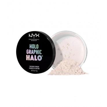 Nyx Professional Makeup - Iluminador Holographic Halo - HHFP01: Mermazing