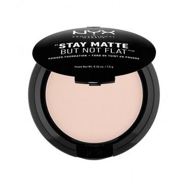 Nyx - Polvo compacto Powder Foundation - Creamy Natural