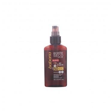 Babaria - Solar aceite seco coco vaporizador spf50 - 100 ml
