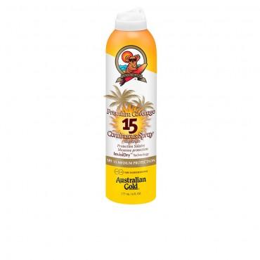 Australian Gold - PREMIUM COVERAGE SPF15 - spray continuo 177 ml