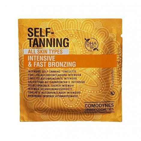 Comodynes - SELF-TANNING toallitas auto bronceadoras todo tipo de pieles - 1uds.