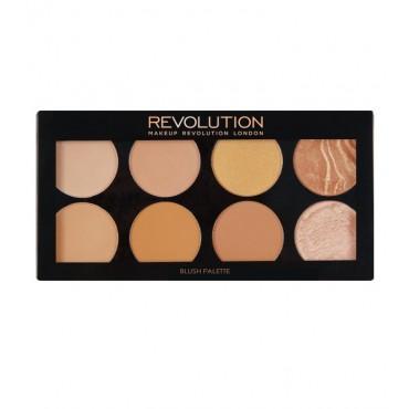 Makeup Revolution - Paleta de bronceador y contorno Ultra - All About Bronze