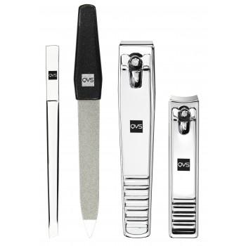 QVS - Kit Básico Essential - 4 herramientas de belleza
