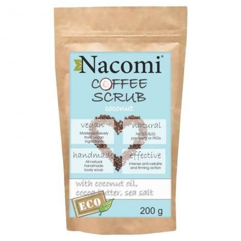 Nacomi - Exfoliante corporal de café - Coco