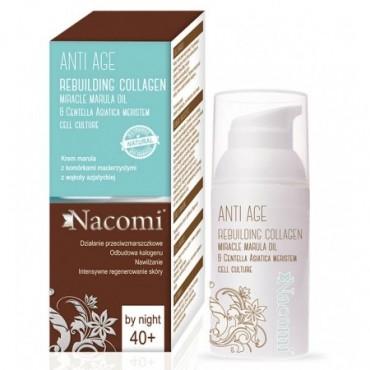 Nacomi - Crema facial de noche con aceite de Marula prensado en frío