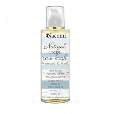 Nacomi - Aceite para el cuidado del cabello. 4 extractos y 4 aceites