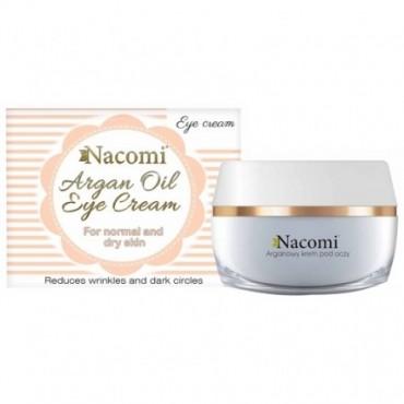 Nacomi - Contorno de ojos en crema con aceite de Argán y semilla de Uvas