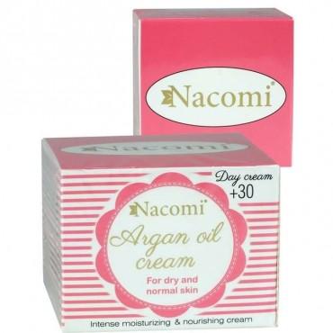 Nacomi - Crema facial día con aceite de Argán y vitamina E. 50ml