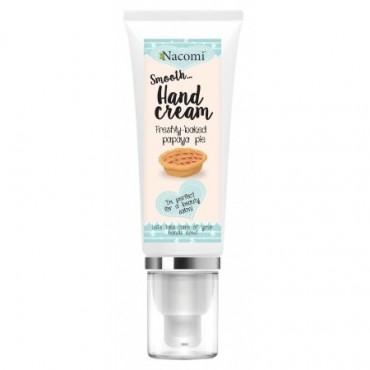 Nacomi - Crema de manos humectante con olor a Pastel de Papaya