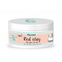 Nacomi - Mascarilla facial y corporal de arcilla roja anti rojeces