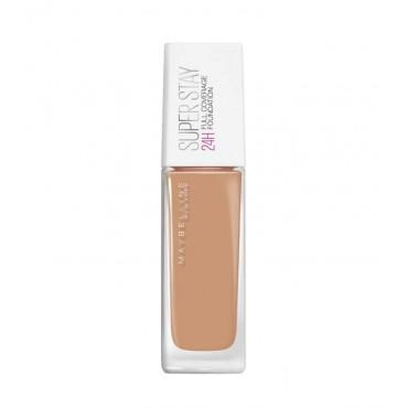 Maybelline - Base de Maquillaje SuperStay 24H Cobertura Total - 49: Amber Beige