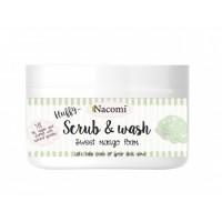 Nacomi - Exfoliante y espuma corporal de Mango
