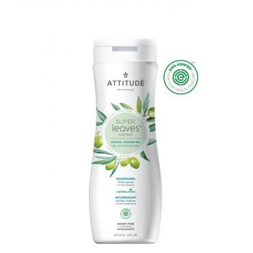 Attitude - Gel de ducha Nutritivo - Hoja de Olivo