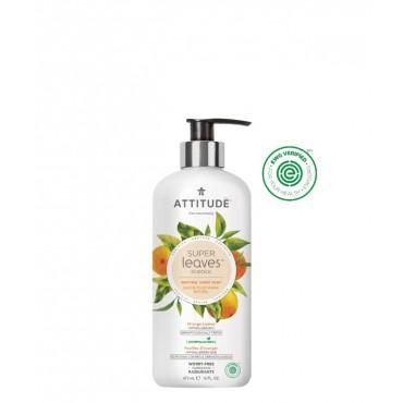 Attitude - Jabón de manos Super Leaves - Hojas de Naranja