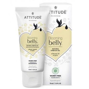 Attitude - Blooming Belly - Aceite reafirmante y nutriente - Almendra y Argán