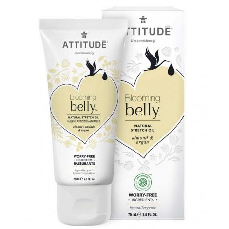 Attitude - Aceite reafirmante y nutriente Blooming Belly - Almendra y Argán