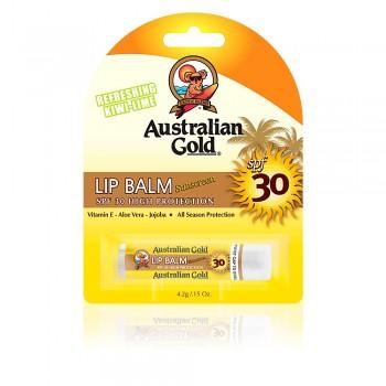 Australian Gold - LIP BALM SPF30 - Bálsamo protector solar labial - 4,2gr