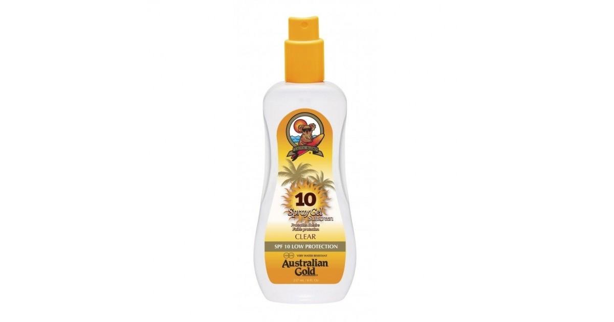 Australian Gold - SUNSCREEN SPF10 - Spray gel