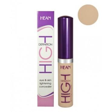 Hean - Corrector Iluminador Ojos y Rostro High Definition 101 PORCELAIN